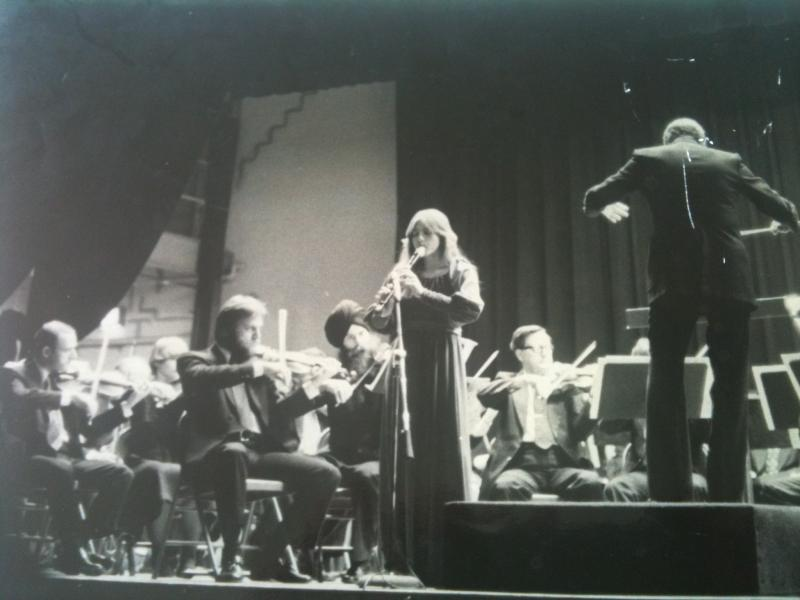 15 years old with the New Orleans Philharmonic
